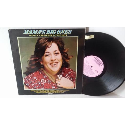 MAMA CASS mama's big ones: her greatest hits, SPB 1020
