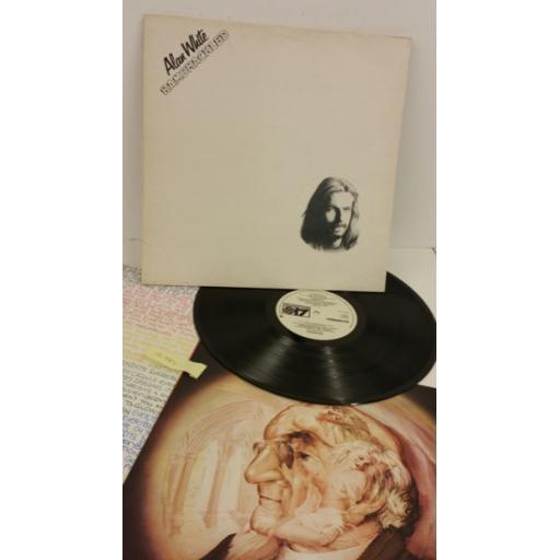 ALAN WHITE ramshackled, textured sleeve, lyric insert, K50217