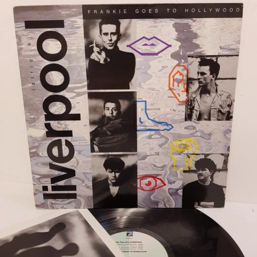 "FRANKIE GOES TO HOLLYWOOD, liverpool, ZTTIQ 8, 12"" LP"