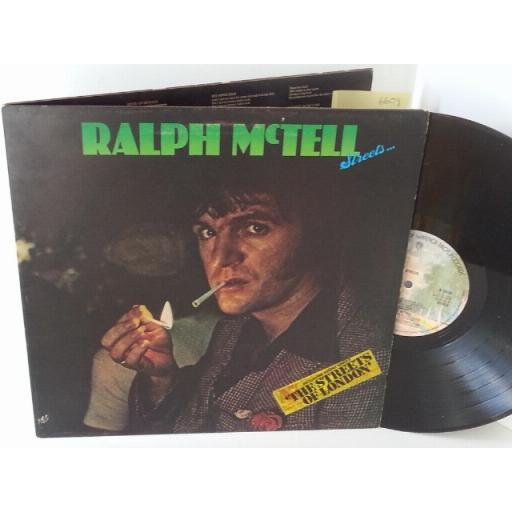 RALPH MCTELL streets