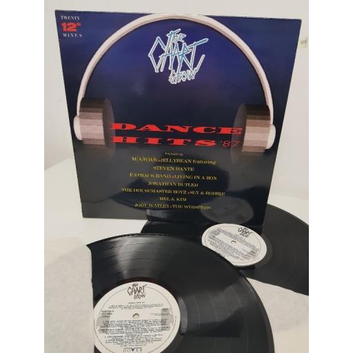 "THE CHART SHOW - DANCE HITS '87, ADD 1, 2x12"" LP"