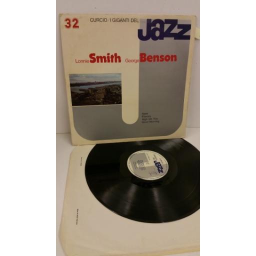 LONNIE SMITH, GEORGE BENSON i giganti del jazz 32, gatefold, GJ 32