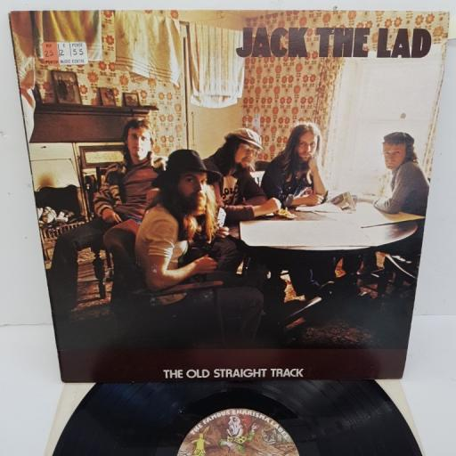 "JACK THE LAD, the old straight track, CAS 1094, 12"" LP"