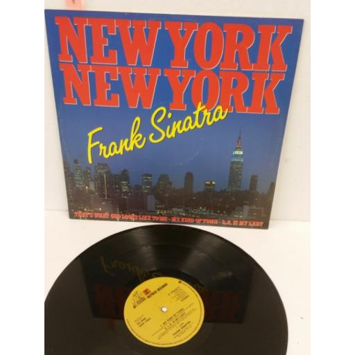 FRANK SINATRA the theme from new york, new york, 12 inch single, K14502T