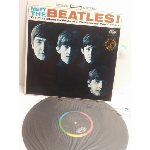 BEATLES meet the Beatles The First Album by Englands Phenomenal Pop Combo ST2047 USA