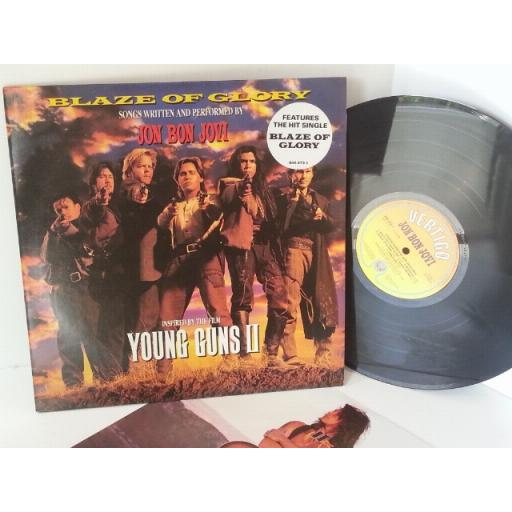 JON BON JOVI blaze of glory, young guns 2