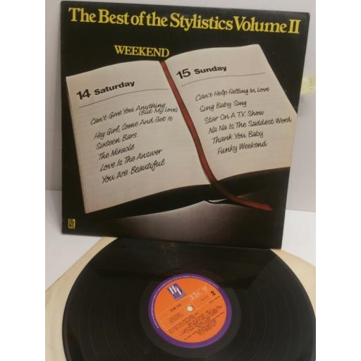 THE STYLISTICS the best of the stylistics volume 2 weekend 9109010