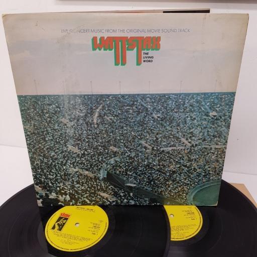 WATTSTAX, THE LIVING WORD, 2362-031, 2x12 inch LP