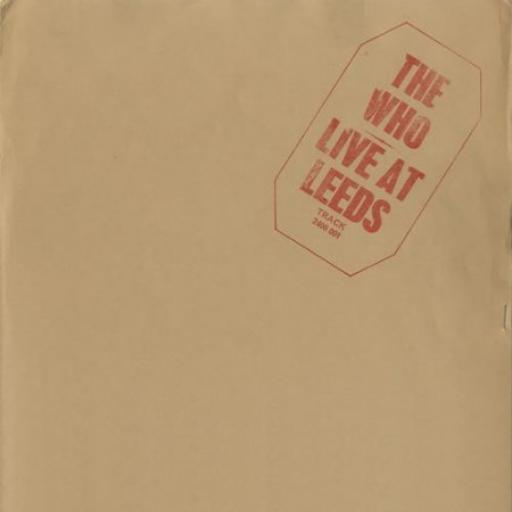 THE WHO, live at leeds