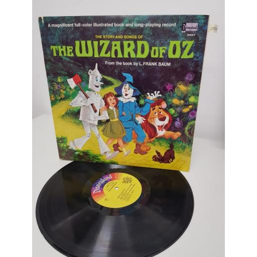 "THE STORY AND SONGS OF THE WIZARD OF OZ, 3957, 12"" LP"