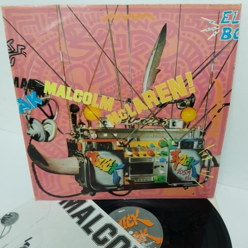 """MALCOLM MCLAREN, duck rock, MMLP1, 12"""" LP"""