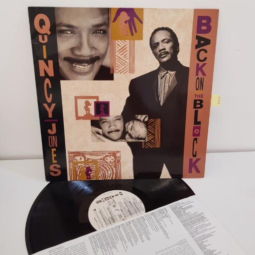 "JONES, QUINCY, back on the block, 12"" LP, 926020-1"