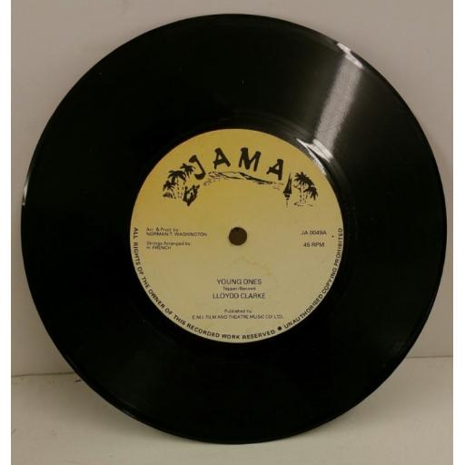 LLOYDD CLARKE / NORMAN T WASHINGTON young ones / set me free, 7 inch single, JA 0049