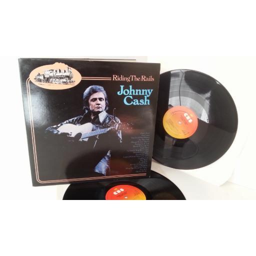 JOHNNY CASH riding the rails, 2 x vinyl, gatefold, 88153