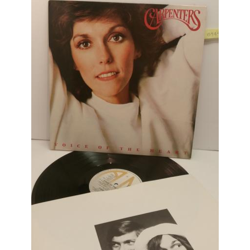 CARPENTERS voice of the heart AMLX 64954