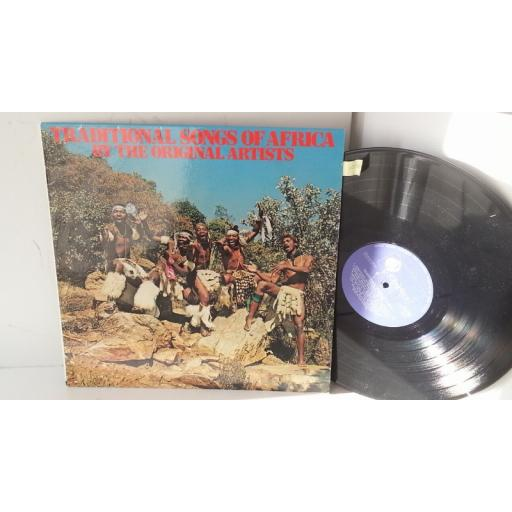SOLD : traditional songs of africa by the original artists, LADYSMITH BLACK MAMBAZE, MOSES MCHUNU, BASOTHO LIHOBA GROUP, GL 1869