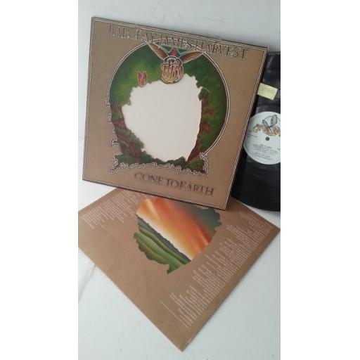 BARCLAY JAMES HARVEST gone to earth, die cut sleeve, 2442 148