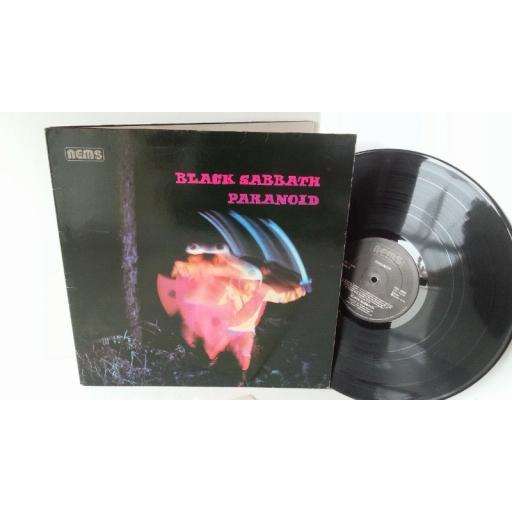 BLACK SABBATH paranoid, NEL 6003, gatefold