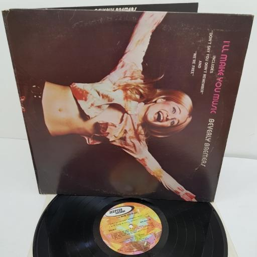 "BEVERLY BREMERS, I'll make you music, SPS 5102, 12"" LP"