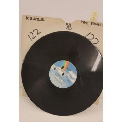 KRAZE the party, 12 inch 4 track single, MCAT 1288