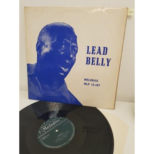 """LEADBELLY, the saga of leadbelly, MLP 12-107, 12"""" LP"""