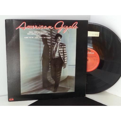 GIORGIO MORODER american gigolo original soundtrack recording, PD 1 6259