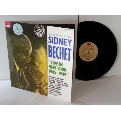 SIDNEY BECHET live in new york 1945-1949