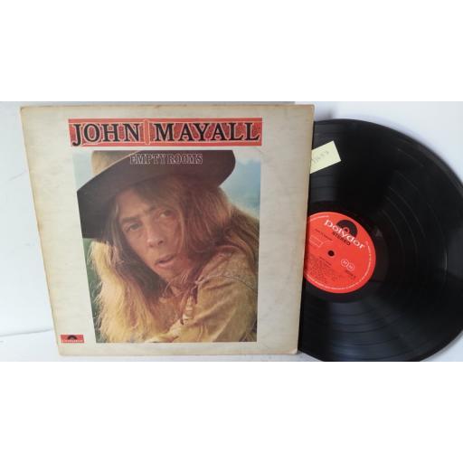 JOHN MAYALL empty rooms, 583 580, no lyric insert
