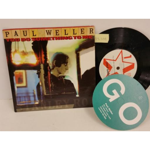 PAUL WELLER you do something to me, PICTURE SLEEVE, 7 inch single, GOD 130
