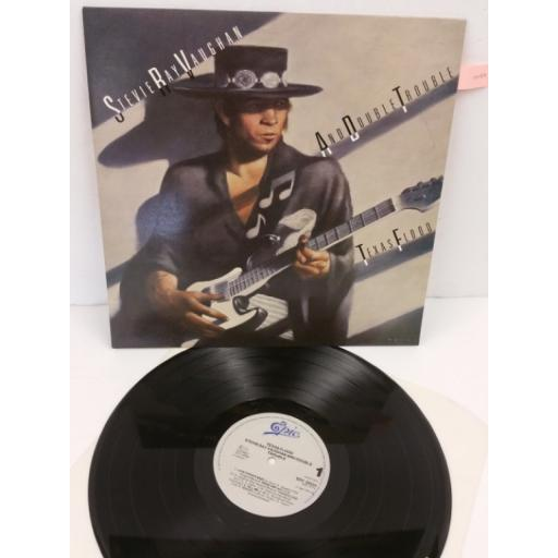 STEVIE RAY VAUGHAN AND DOUBLE TROUBLE texas flood, EPC 25534