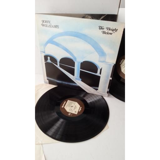 JOHN WILLIAMS the height below, gatefold, 2 x vinyl, TOOFA 12