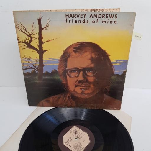 "HARVEY ANDREWS, friends of mine, HIFLY 15, 12"" LP"