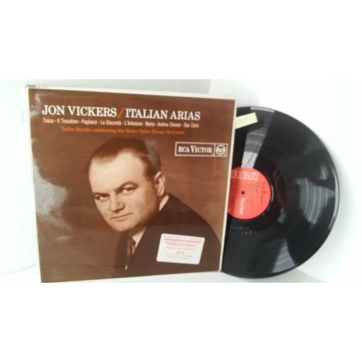 JON VICKERS italian arias, SB 6577