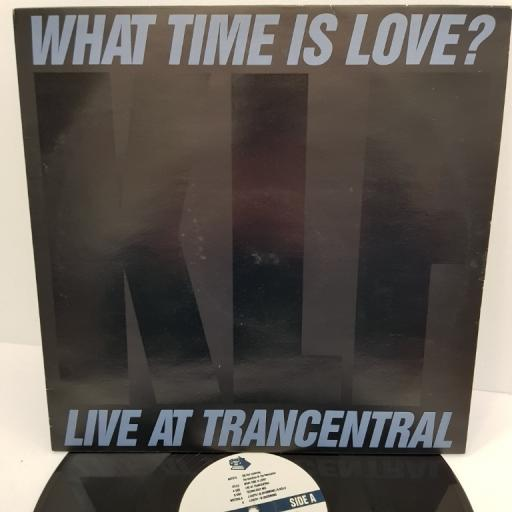 "KLF, what time is love? KLF 004X 12"" LP"