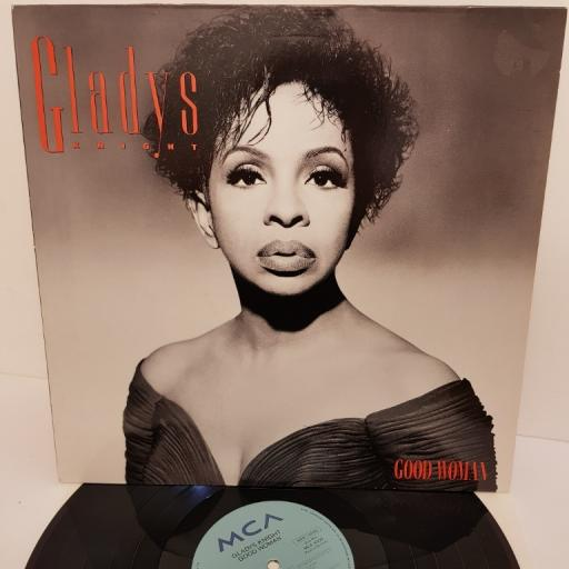 "GLADYS KNIGHT, good woman, MCA 10329, 12"" LP"