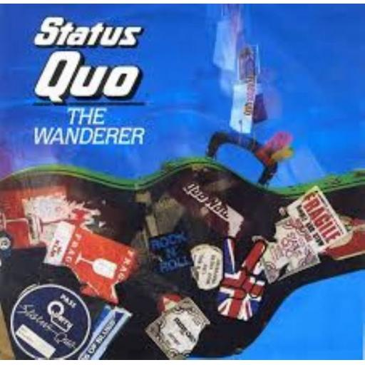 STATUS QUO, the wanderer, side B can't be done, QUO 16, PICUTRE SLEEVE, 7'' single