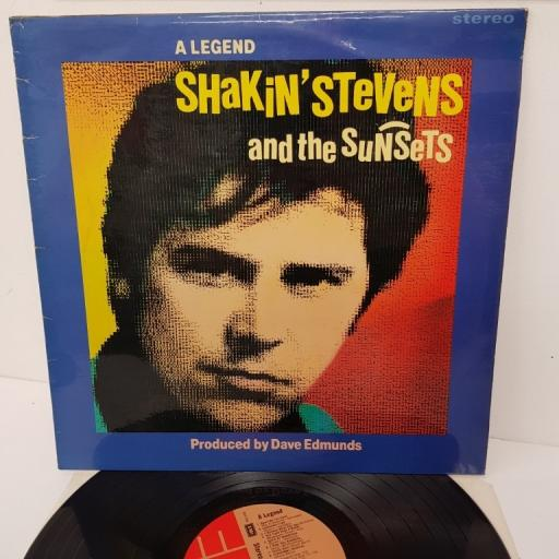 SHAKIN' STEVENS AND THE SUNSETS, a legend, NUT 25, 12 inch LP