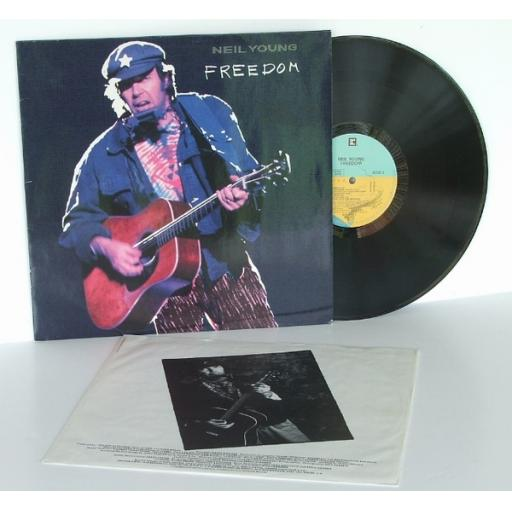 NEIL YOUNG Freedom Top copy. First UK pressing. 1989. [Original recording]