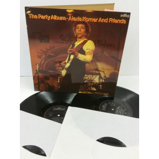 ALEXIS KORNER & FRIENDS the party album, gatefold, 2 x lp, INT 170.000