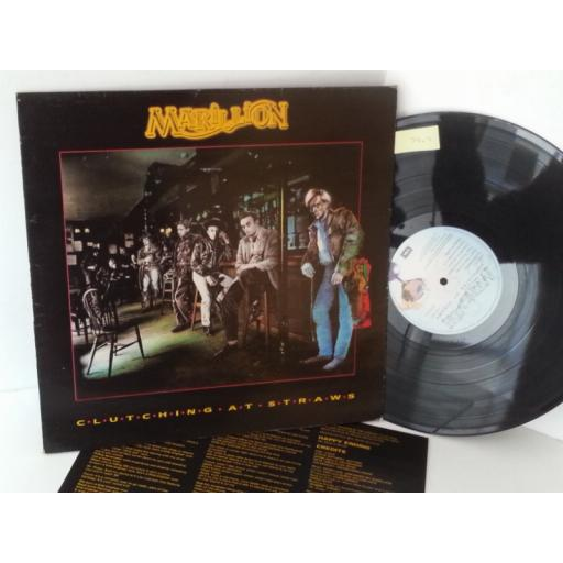 MARILLION clutching at straws, EMD 1002