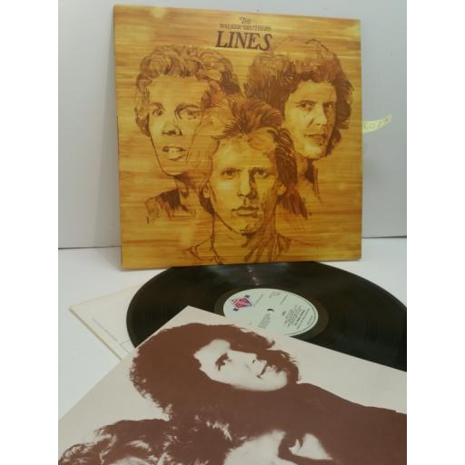 THE WALKER BROTHERS, lines, GTLP 014