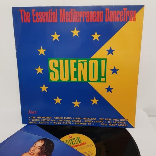 "SUENO! THE ESSENTIAL MEDITERRANEAN DANCETRAX, BCM 333 LP, 12"" LP"