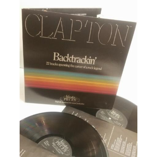 ERIC CLAPTON Clapton Bactrackin' 22 tracks spanning the career of a rock legend ERIC1 DIGITALLY REMASTERED FOR SOUND PERFECTION