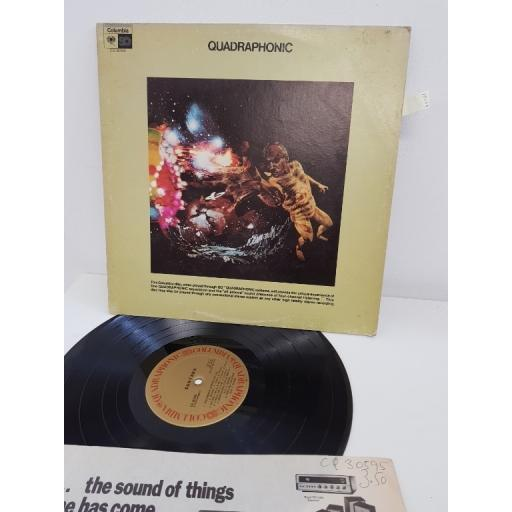 """SANTANA, santana, CQ 30595, 12""""LP"""