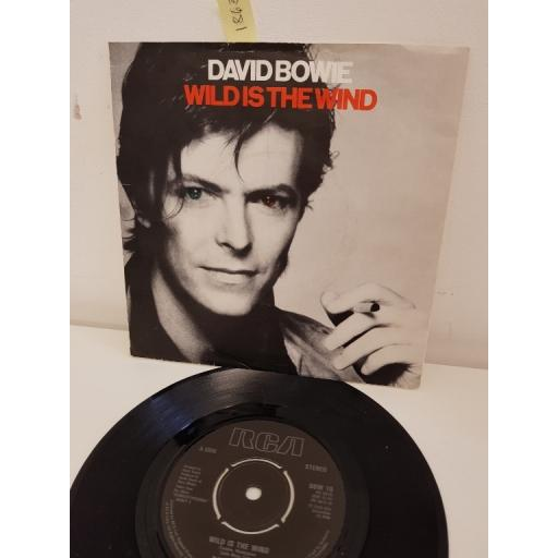 DAVID BOWIE, wild is the wind, side b golden years, PB 9815, 7'' single