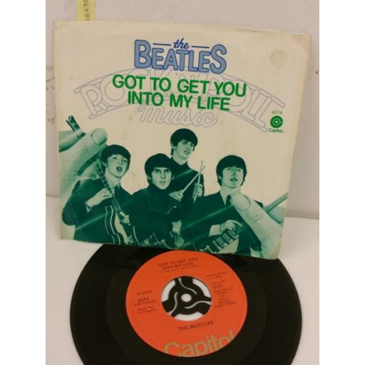 THE BEATLES got to get you back into my life, 7 inch single, 4274