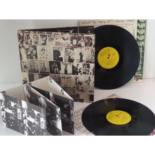"ROLLING STONES ""exile on main st."", gatefold, double album"