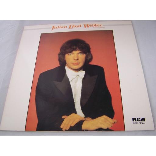 "JULIAN LLOYD WEBBER, 'cello man, RL70797, 12"" LP"
