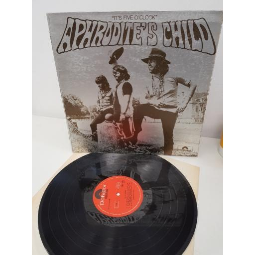 "APHRODITES CHILD, it's five o'clock, 2383 009, 12"" album"