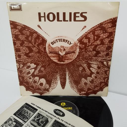 "THE HOLLIES, butterfly, PMC 7039, 12"" LP, mono"